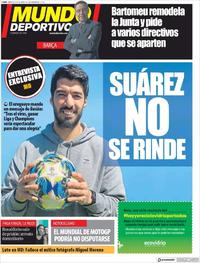 Portada Mundo Deportivo 2020-04-08