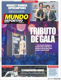 Portada Mundo Deportivo 2020-01-28