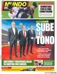 Portada Mundo Deportivo 2021-03-03