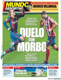 Portada Mundo Deportivo 2021-05-07