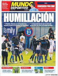 Portada Mundo Deportivo 2021-01-21