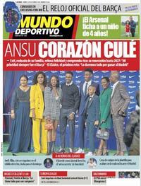 Portada Mundo Deportivo 2021-10-23