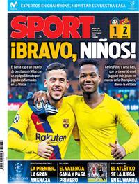 Portada Sport 2019-12-11