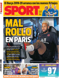 Portada Sport 2019-07-16