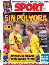 Portada Sport 2019-08-17