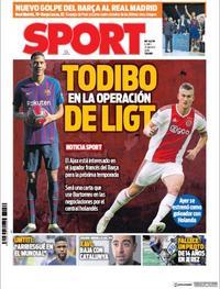 Portada Sport 2019-03-25