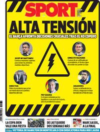 Portada Sport 2019-05-27