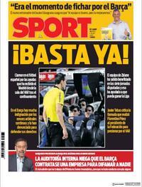 Portada Sport 2020-07-07