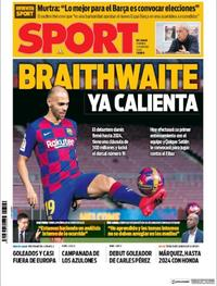 Portada Sport 2020-02-21