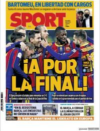 Portada Sport 2021-03-03