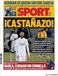 Portada Sport 2021-01-21
