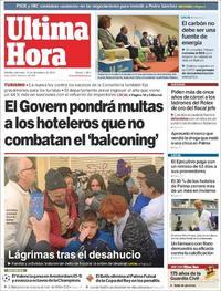 Portada Última Hora 2019-12-11